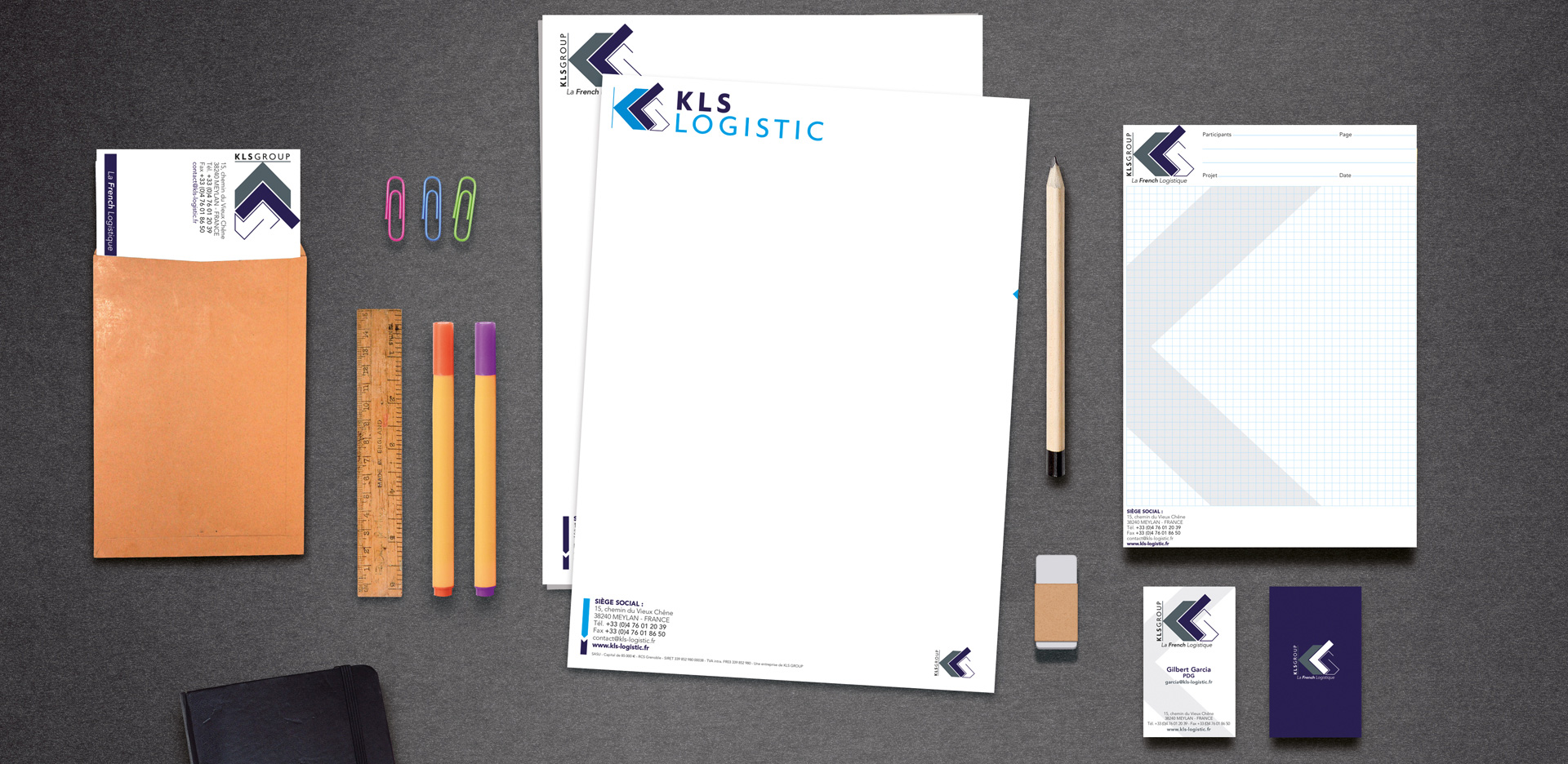 KLS Group charte graphique